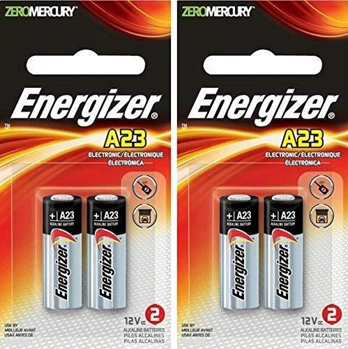 Energizer Zero Mercury Alkaline Batteries A23 2 ea (2 pack)