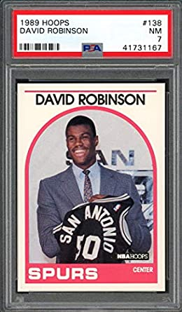 Amazoncom 1989 90 Hoops 138 David Robinson San Antonio