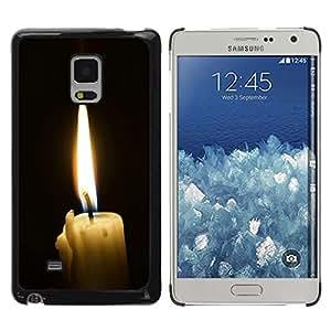 Be Good Phone Accessory // Dura Cáscara cubierta Protectora Caso Carcasa Funda de Protección para Samsung Galaxy Mega 5.8 9150 9152 // Flame Nostalgic Emotional Goth
