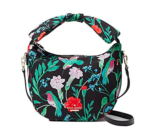 Kate Spade Jeny Satchel Crossbody Haring Lane Jardin Multi Floral Handbag ()