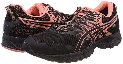 Pour G Femmes Asics De 3 sonoma Noir Begonia Gel Chaussures 9006 Nero Course tx noir Rose xRzwTqYq8S