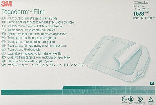 Transparent Dressing 3M TegadermTM Film 6 X 8 Inch, 10 Per -