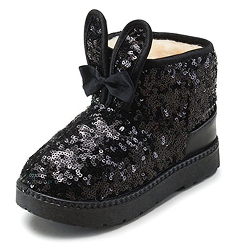Sequin Boots Girls - Blue Line Girls Boots, Bunny Kid