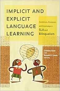 Handbook of Implicit Learning