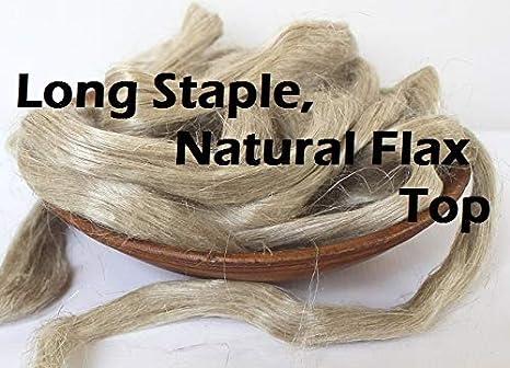 Planta de fibra de lino natural de 56,7 g de largo, con peinado de ...