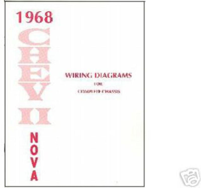 chevy wiring diagrams automotive amazon com bishko automotive literature 1968 chevrolet chevy ll  amazon com bishko automotive