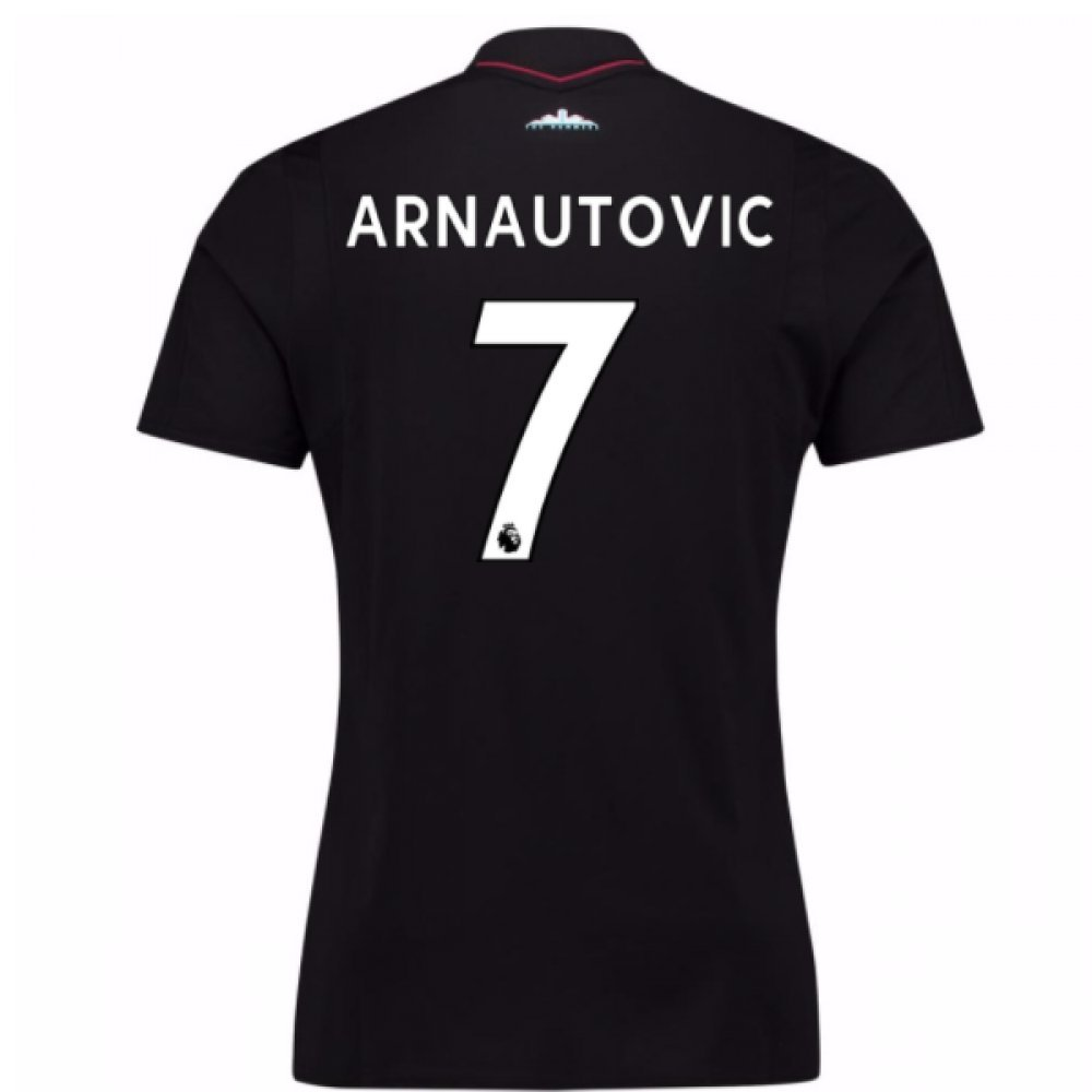 2017-18 West Ham Away Football Soccer T-Shirt Trikot (Marko Arnautovic 7)