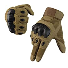 Fuyuanda Full Finger Outdoor Glove Touch Screen Men`s Tactical Cycling Hunting Climbing Sports Glove for Military Airsoft Paintball Pistol Riding Motorcycle Smart Phone