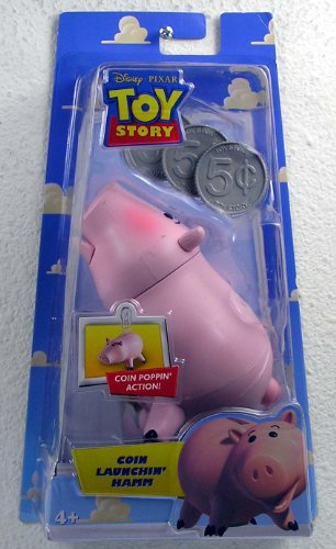 Disney Pixar Toy Story Coin Launchin Hamm Action Figure