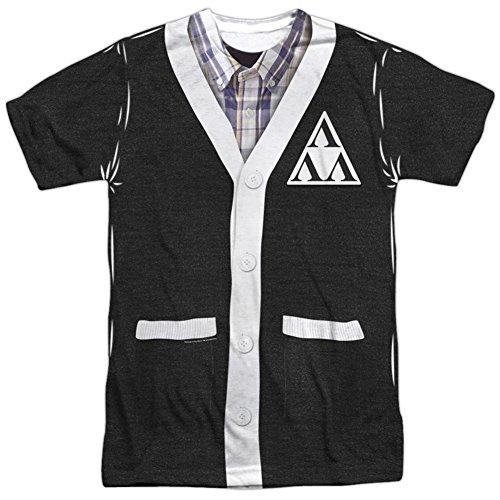 Tri Lambda Costume (Revenge Of The Ners- Tri-Lambda Cardigan Costume Tee T-Shirt Size XXXL)