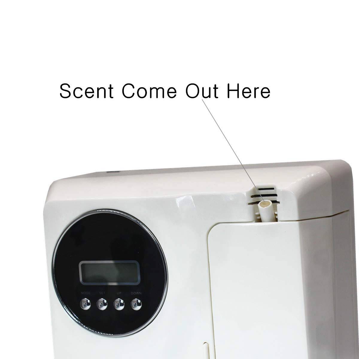 Kevinleo Scent Air Machine Aroma,Video Operation,Waterless,Flexible Work Time(Monday-Sunday),12V USA Plug,150ml Refill Bottle,Stand on Table or Mount on Wall,Fragrance Air Dispenser at Hotel SPA KTV by Kevinleo (Image #5)