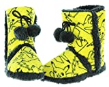 Pokemon Pikachu Allover Print Womens Boot Slippers (Large)