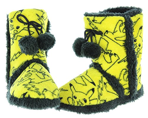 Pokemon Pikachu Allover Print Womens Boot Slippers for sale  Delivered anywhere in USA
