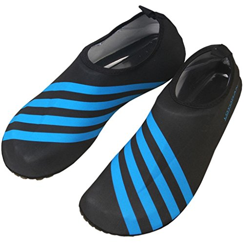 Sibba Unisex Barefoot Water Skin Aqua Shoes Quick Dry Beach Swim Surf Yoga Exercise Shoes for Women Men and Kids...