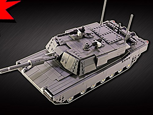 Clip: C M1A2 Abrams Main Battle (M1a1 Tank Armor)