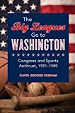 The Big Leagues Go to Washington : Congress and Sports Antitrust, 1951-1989, Surdam, David George, 0252039149