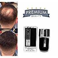 Hair Illusion - 100% Natura Reall Human Hair FibersNot Synthetic For Men & Women...