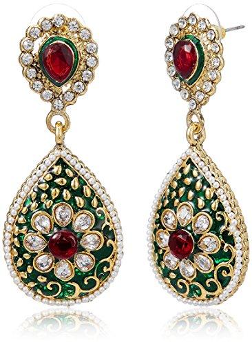 Aheli Drop Earrings for Women (Multi-colour) (A1EJP103)