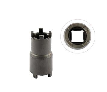 XtremeAmazing 20 mm 24 mm contador Balancer embrague Hub Lock Tuerca Socket Llave Herramienta para Honda ATV 07716 - 0020100, 07 vma-mbb0100 - 10: ...
