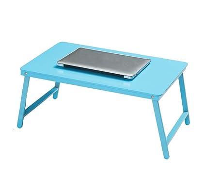 LAMXF-Mesa para Ordenador Escritorio portátil Plegable para el sofá de la Cama, Soporte