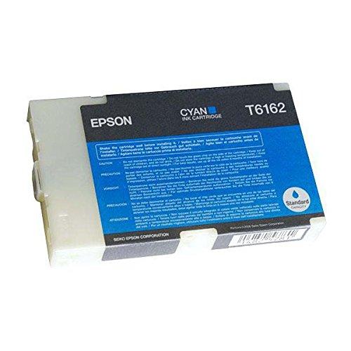 Epson T6162 Cartouche d'encre d'origine Cyan Capacité Standard 3500 pages