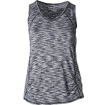 RBX Active Women's Plus Size Activewear Deep V-Neck Tank Top