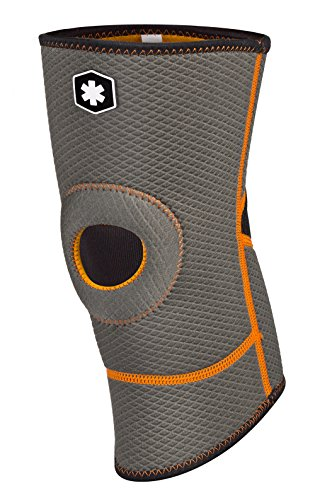 IceWraps Slip-On Knee Sleeve with Open Patella Brace - Lightweight Breathable Compression Knee Brace for Knee Pain Relief (Extra Large)