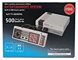 Grey MINI Classic Family Game TV Video Game Console + 500 Classic Game Buit In kids gift