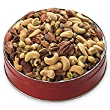 50/50 Mixed Nuts with Pistachios Gift Tin from Wisconsin Cheeseman
