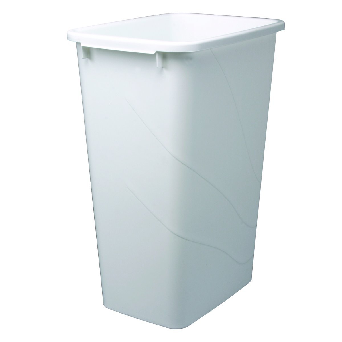 Amazon.com: Knape & Vogt QT50PB-W Replacement Trash Can, 21.56-Inch ...