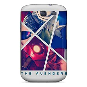 (taL25011HagX)durable Protection Cases Covers For Galaxy S3(the Avengers Artwork) Black Friday