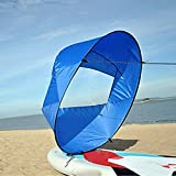 "WICHEMI 42"" Durable Downwind Wind Sail Sup Paddle Board Instant Popup for Kayak Boat Sailboat Canoe Foldable Style"