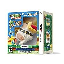 Nintendo Poochy & Yoshi's Woolly World Plus Yarn-Poochy Amiibo - Nintendo 3DS