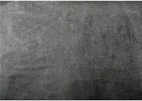 "Foam Charcoal Suede Stretch Headlining Foam Backed Fabric 60/"" Wide 3 yards"