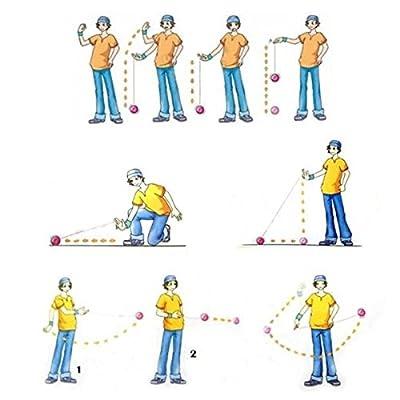 MAGICYOYO &Yostyle M002 April Unresponsive Yo-Yo (Black Green and Yellow) by MAGICYOYO: Toys & Games