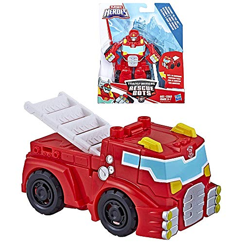 Heatwave Robot to Fire Engine Rescue Heroes Transformer 4.5