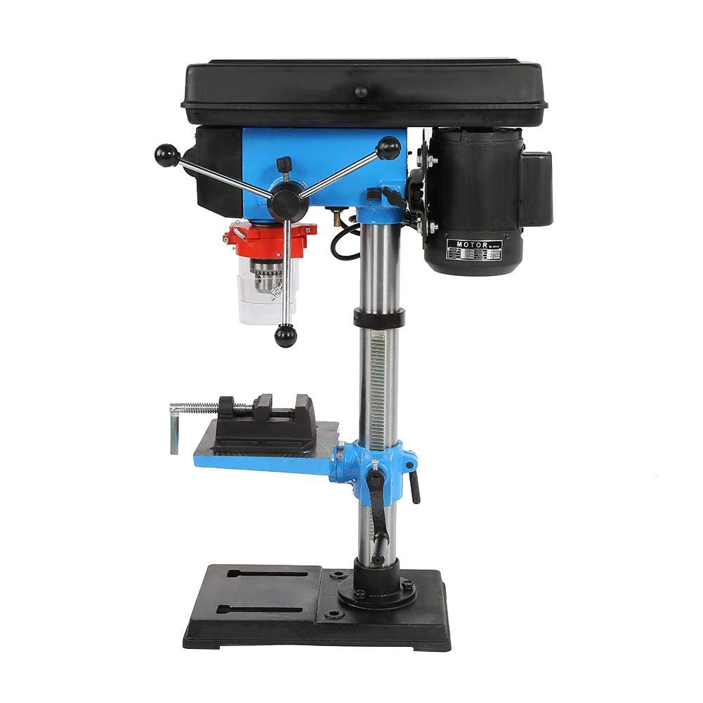 Drill Press, Industrial High Precision Hand Adjustable Height Bench Drill Press Stand Workbench US Plug 110V