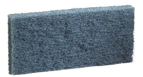 3M Doodlebug Scrub Pad 8242 Blue, 4.625'' x 10'' (Case of 20) by 3M