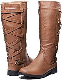 Ladies Riding Boot With Lace Up Back Strap (See More...