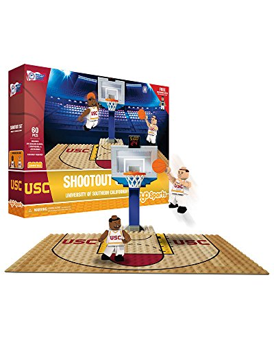 Oyo Sportstoys NCAA USC Trojans Sports Fan Bobble Head Toy Figures, Maroon/Yellow, One Size
