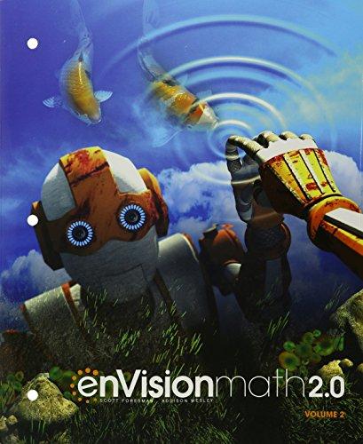 ENVISION MATH 2.0 STUDENT EDITION GRADE 6 VOLUME 2 COPYRIGHT 2017