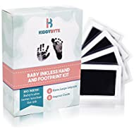 Baby Inkless Footprint & Handprint Kit with 4 Extra...