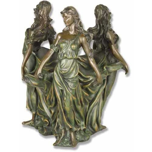 XoticBrands OSF7182 Dancing Muse Urn Garden Planter by XoticBrands
