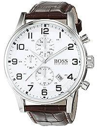 Hugo Boss Men's 1512447 Brown Leather Quartz Watch