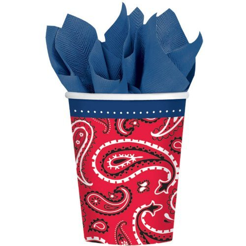 - Amscan Bandana & Blue Jeans Western 9 Oz Paper Party Cup