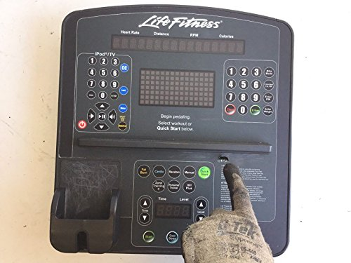 Life Fitness Display Console Assembly Works CLSR - CLSC Commercial Recumbent Bike