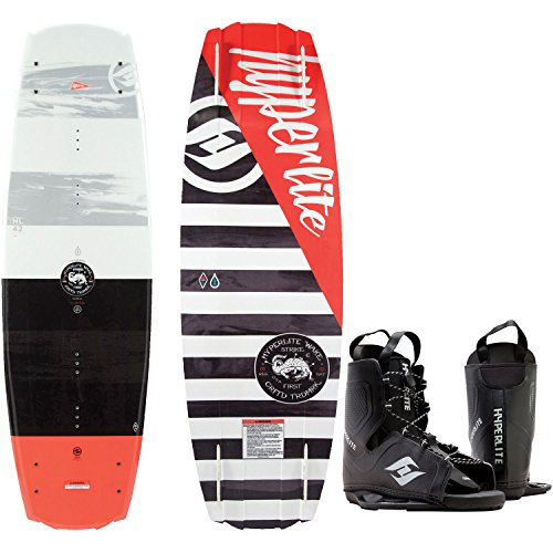 Hyperlite Franchise Blem Wakeboard Mens 138cm Bindings O/S 8-12