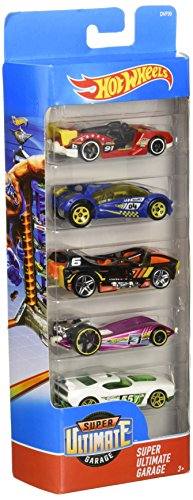 Hot Wheels 5 Car Gift Pack (Styles May (Unique Group Costumes Ideas)