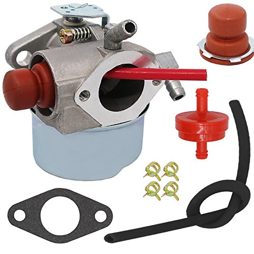 - Yooppa Carburetor for Tecumseh 640271 640303 640338 640274 13566 LV195EA LV195XA LEV100 LEV105 LEV120 Mowers Carburetor - Tecumseh 640350 Carburetor