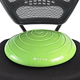 Gaiam Balance Disc Wobble Cushion Stability Core Trainer for Home or Office Desk Chair & Kids Classroom Sensory Wiggle Seat, Wasabi